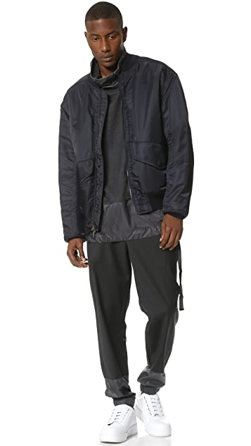 3.1 Phillip Lim Oversized Flight Bomber Jacket