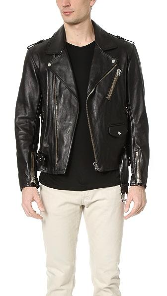 3.1 Phillip Lim Moto Jacket with Multi Zip Pocket