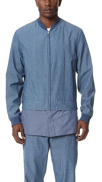 3.1 Phillip Lim Harrington Jacket with Zip Off Shirt Hem