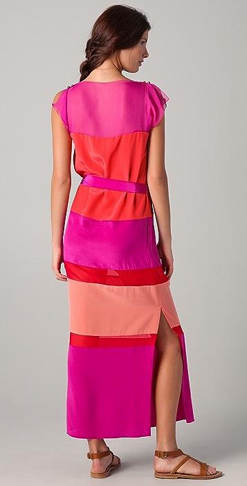 Tribune Standard Pieced Box Maxi Dress