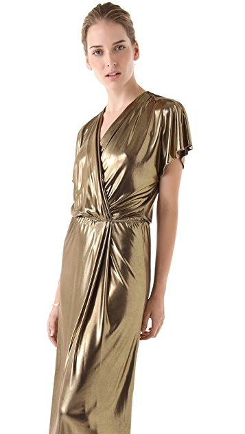 Tribune Standard Liquid Wrap Dress