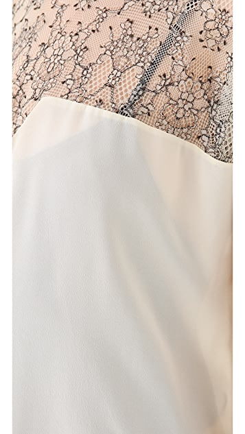 Tribune Standard Pieced Top with Lace