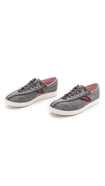 Tretorn Nylite Linen Sneakers
