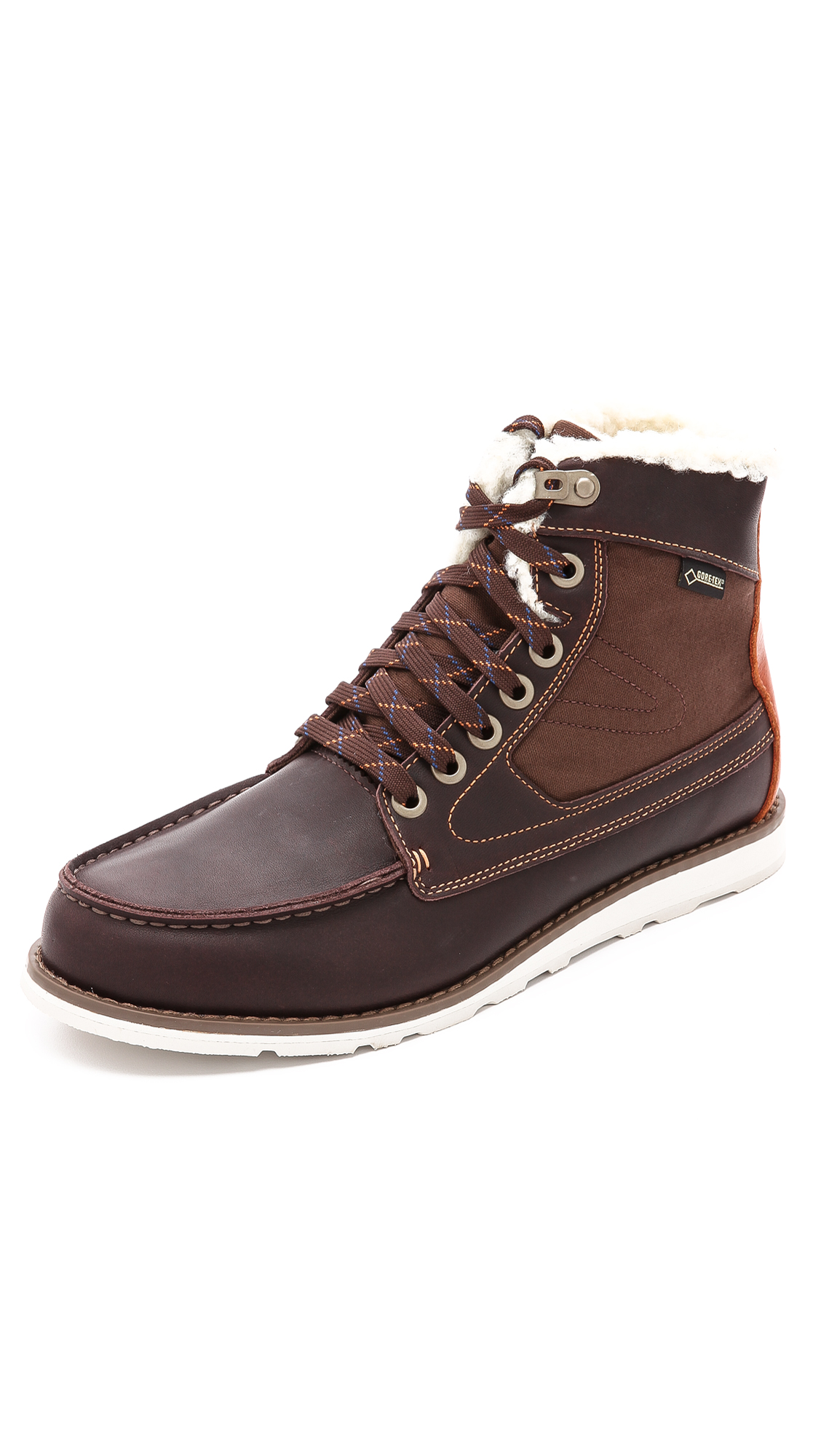 Tretorn Garde Stovel Vinter Gtx Boots East Dane D Island Shoes Style Hikers Dm Mens Leather Cokelat