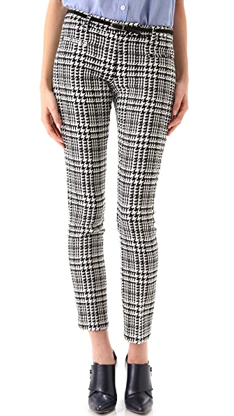 True Royal Slim Houndstooth Pants