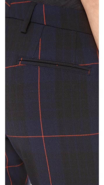 True Royal Tartan Plaid Pants