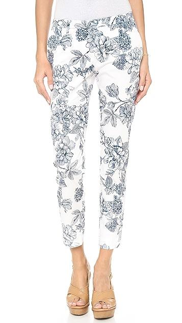 True Royal Side Pocket Floral Pants
