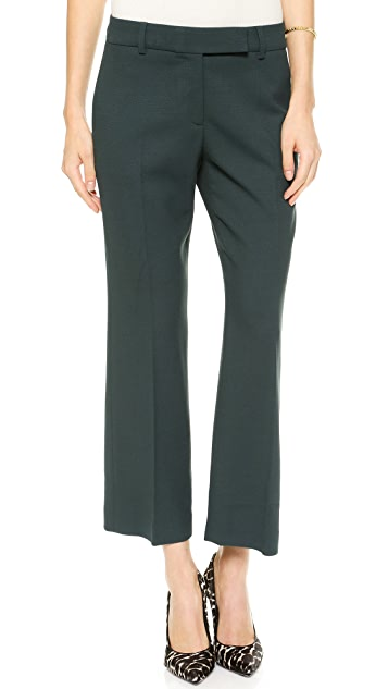True Royal Slouchy Cropped Trousers