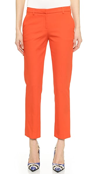 True Royal Cropped Flare Pants