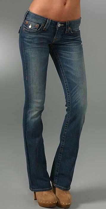 True Religion Tony Slim Boot Cut Jeans