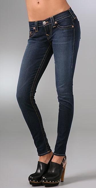 True Religion Casey Super Skinny Denim Leggings