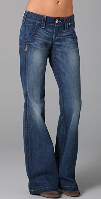 True Religion Sammy Trouser Flare Jeans