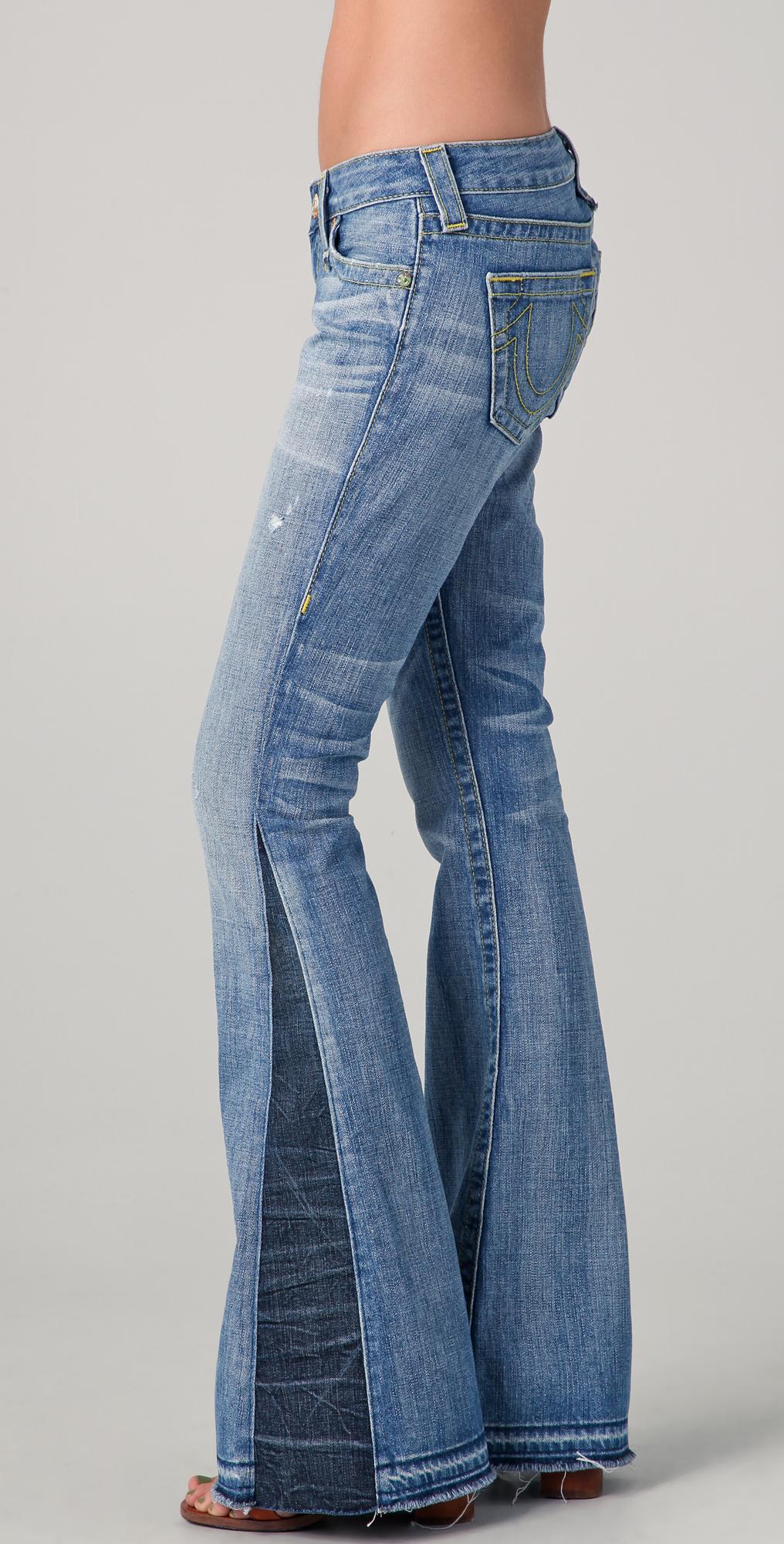 True Religion Bobby Love & Haight Flare Jeans | EAST DANE
