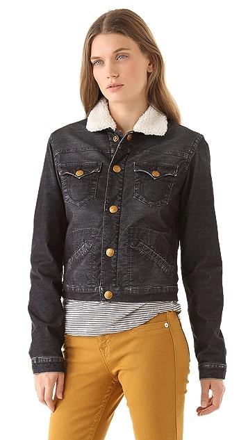 True Religion Retro Sherpa Jacket