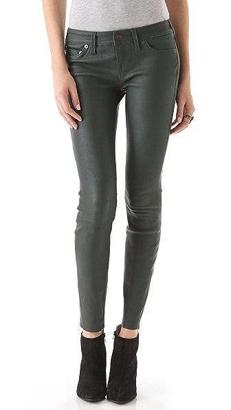 True Religion Casey Leather Pants