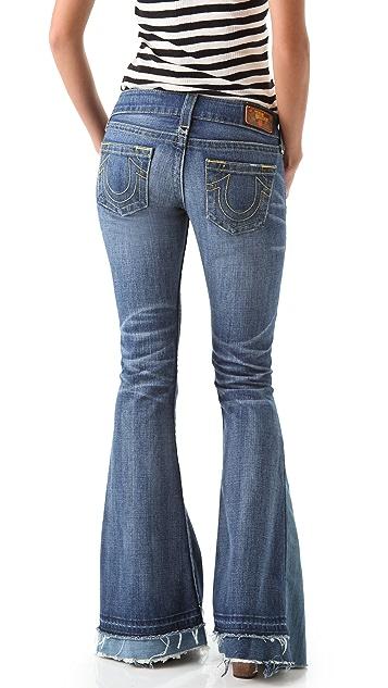 True Religion Morgan Flare Love & Haight Jeans