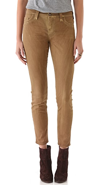True Religion Halle Sunrise Coated Skinny Jeans