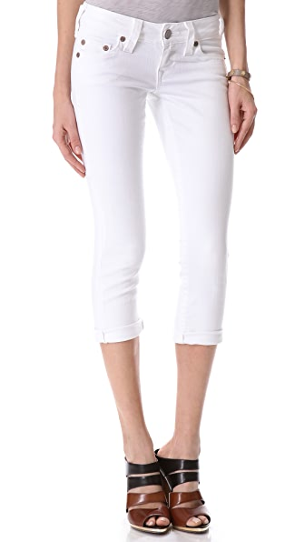 True Religion Lizzy Cropped Jeans