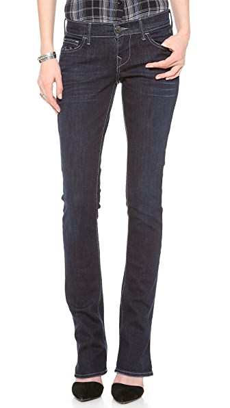True Religion Lexy Low Rise Mini Boot Cut Jeans