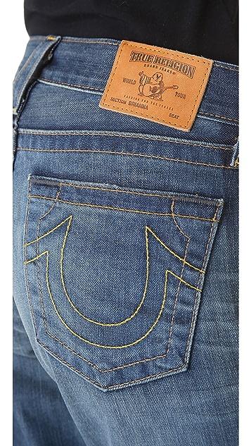 True Religion Brianna Boyfriend Jeans