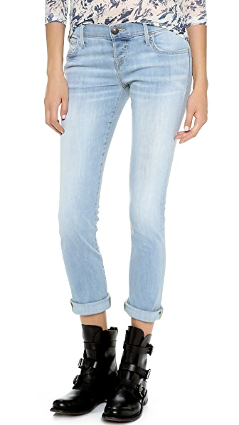 True Religion Leona Rolled Crop Skinny Jeans