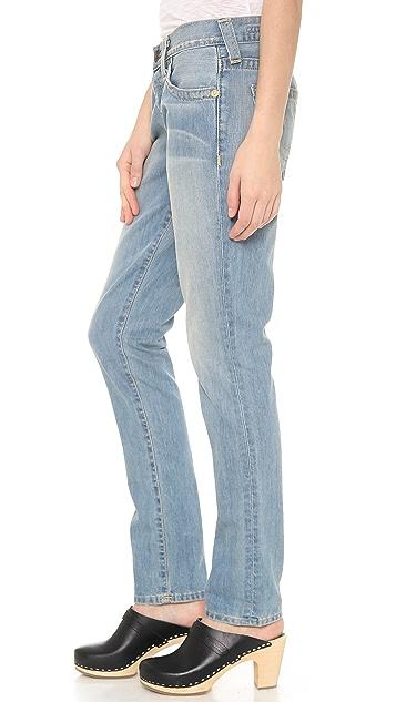 True Religion Brianna Mid Rise Boyfriend Jeans