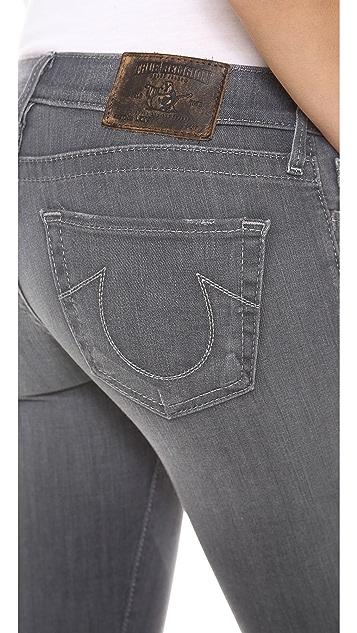True Religion Lexi Mini Boot Cut Jeans