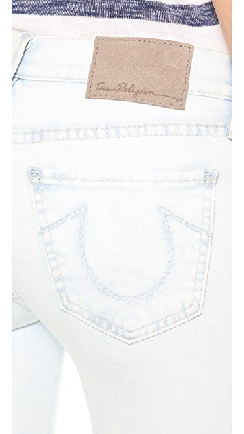 True Religion Halle Cropped Skinny Jeans