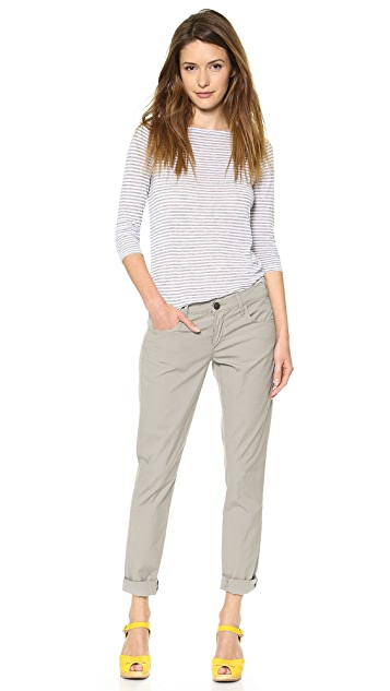 True Religion Briana Poplin Boyfriend Pants
