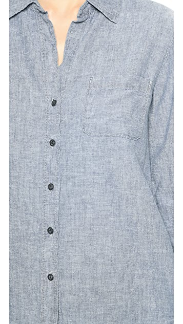 True Religion Hope Relaxed Button Down
