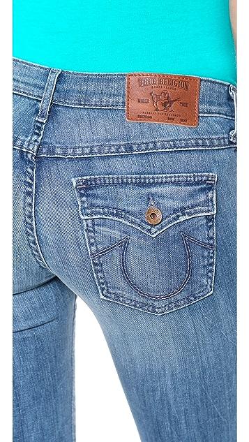 True Religion Victoria Cigarette Ankle Jeans