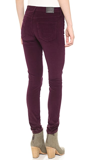 True Religion Halle Super Skinny Corduroy Pants