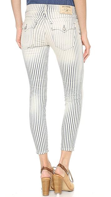 True Religion Serena Super Skinny Ankle Jeans