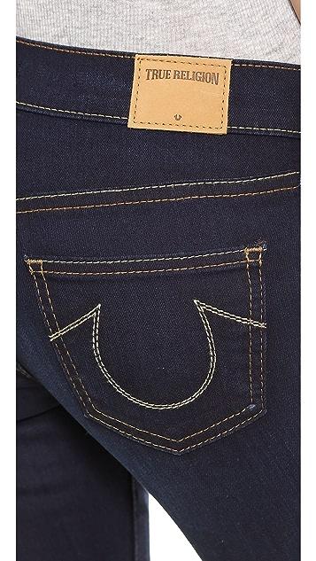True Religion Casey Low Rise Super Skinny Jean