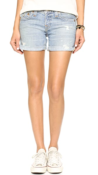 True Religion Jayde Boyfriend Shorts - Wagoneer