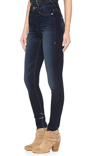 True Religion Harper High Rise Super Skinny Jeans