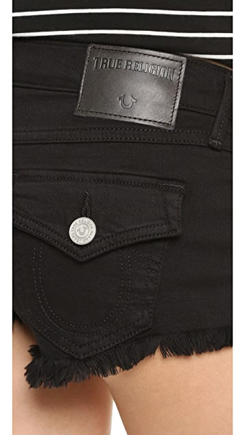 True Religion Joey Cutoff Shorts