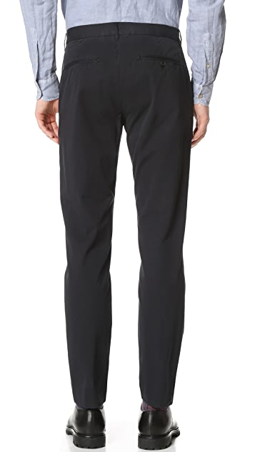 Todd Snyder Sanded Twill Tab Front Pants