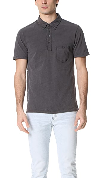 Todd Snyder Weathered Pocket Polo
