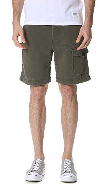 Todd Snyder Cargo Terry Shorts
