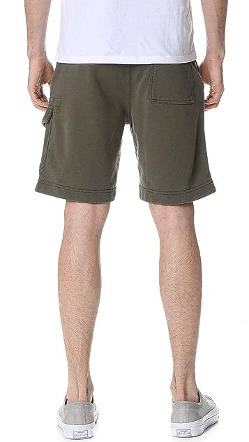 Todd Snyder Cargo Terry Shorts