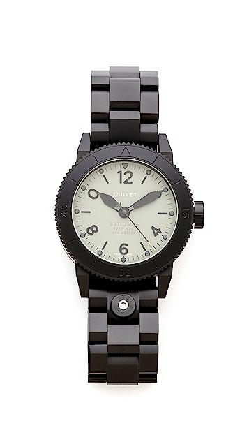 Tsovet Black & Green 44MM Watch