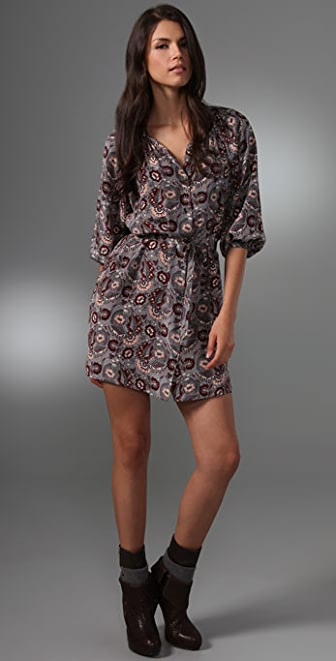 Tucker Smocked Collar Mini Dress