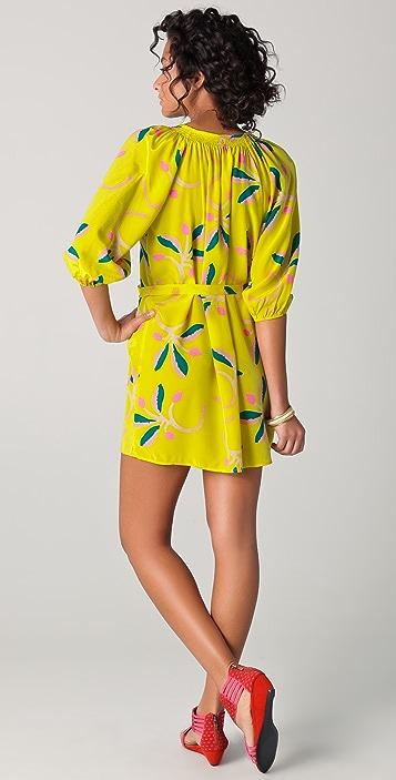Tucker Classic Smocked Mini Dress