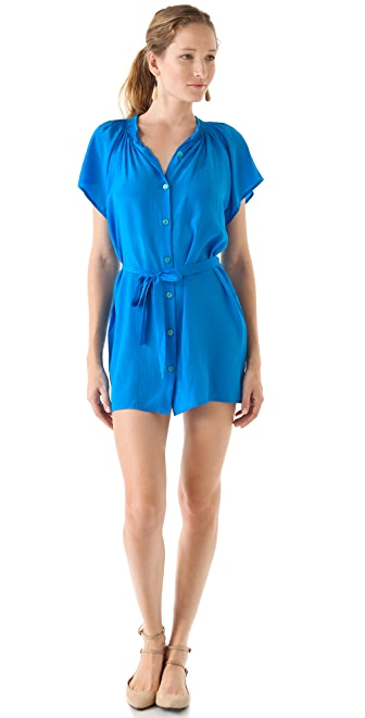 Tucker Mini Short Sleeve Dress