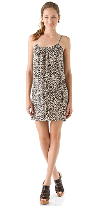 Tucker Shirred Cami Mini Dress