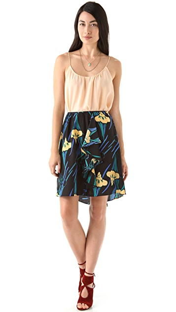 Tucker Cascade Miniskirt