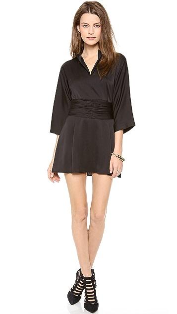 Tucker Kimono Belt Dress