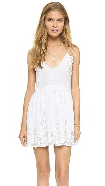 Shop TULAROSA online and buy Tularosa Dixie Mini Dress White dresses online