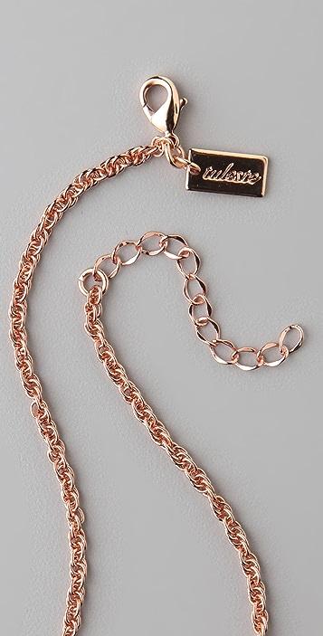 Tuleste Twist Pendant Necklace